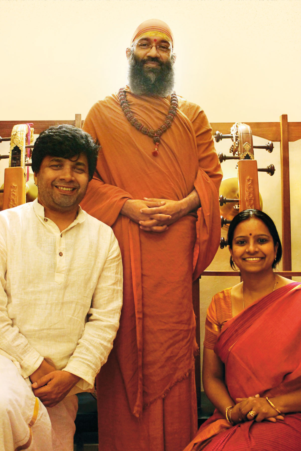 Musicians with His Holiness