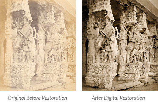 Archive Restoration Before & After