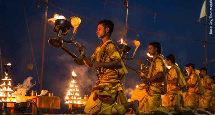 Ganga Aarti at Varanasi