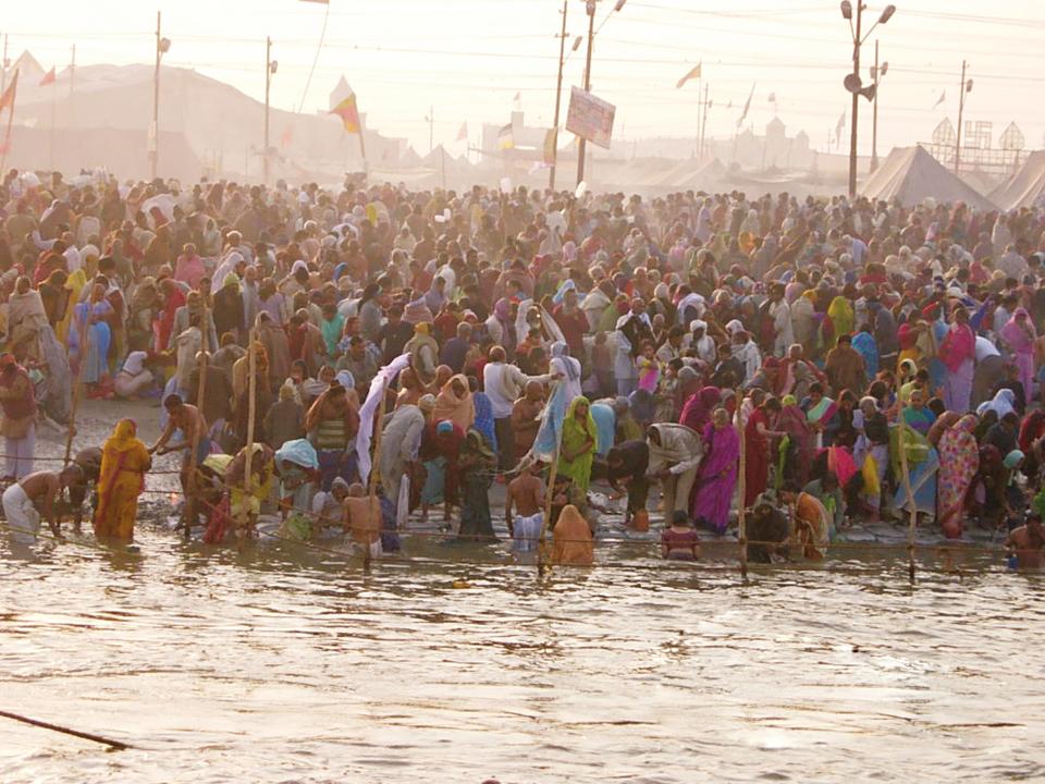 Kumbha Mela Bathing